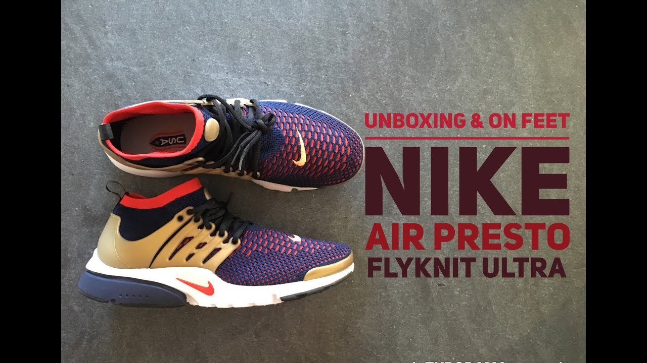 super popular f80c4 0ea3a Nike Air Presto Flyknit Ultra  UNBOXING  ON FEET  fashion shoes  2016   HD