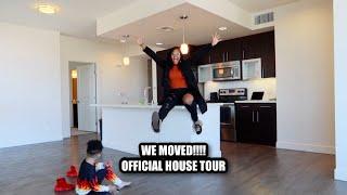 SURPRISE!! WE MOVED! OFFICIAL HOUSE TOUR (LA EDITION)