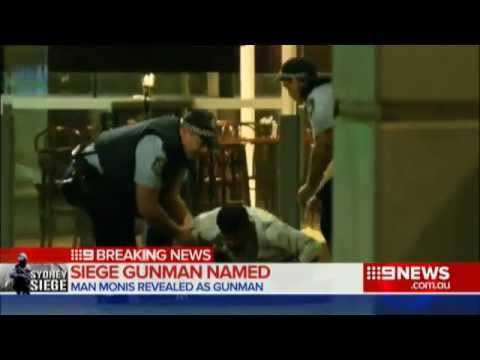 The Final Moments of Sydney Seige Unfolded (16/12/2014)