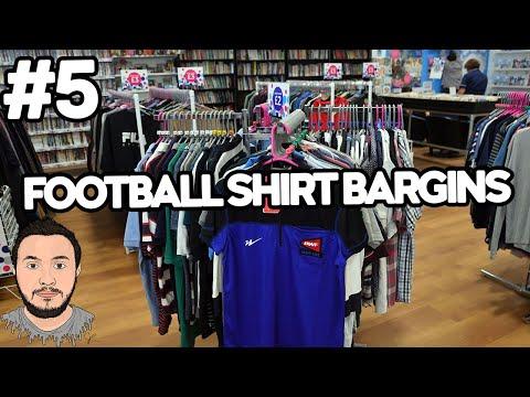 FOOTBALL SHIRT BARGAINS #5 CHARITY SHOPS NOW OPEN!