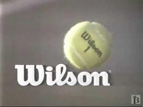 Wilson Tennis Ball Commercial 1980