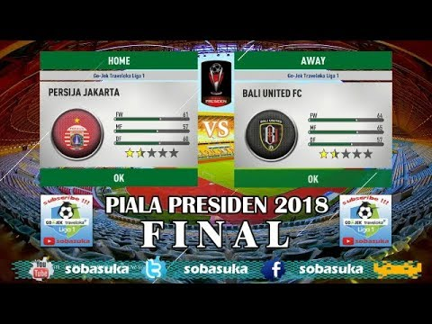 LIVE STREAMING PERSIJA JAKARTA VS BALI UNITED PIALA ...