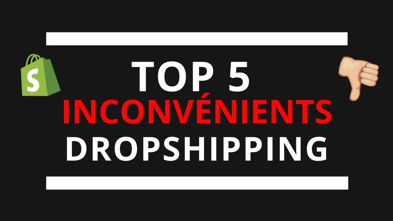 TOP 5 INCONVÉNIENTS DROPSHIPPING ????