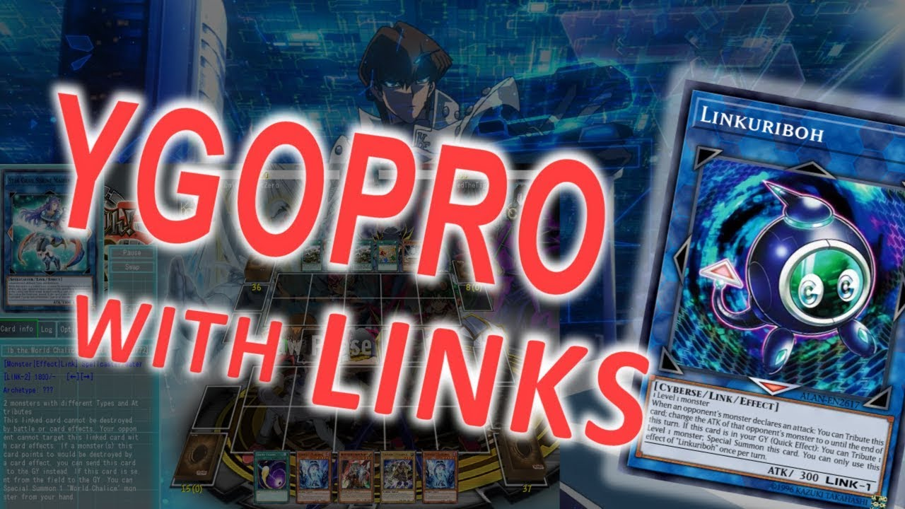 YGOPro With Link Summoning (English Version - Installation Guide)