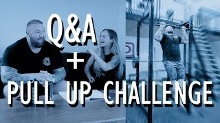Q&A + PULL UP CHALLENGE WITH MY WIFE!