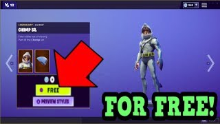 HOW TO GET CHOMP SR. SKIN FOR FREE! (Fortnite Old Skins)