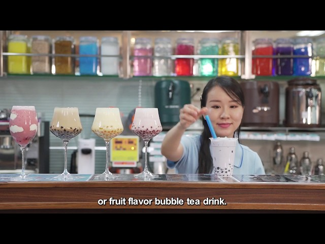 Taiwan Bubble Tea -- The Drink that is Changing the World (English_long version)