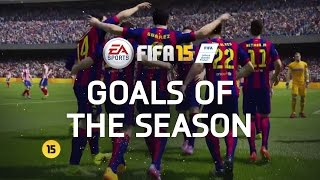 fifa 15   best goals of the season