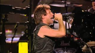 Скачать Bon Jovi You Give Love A Bad Name MSG HD