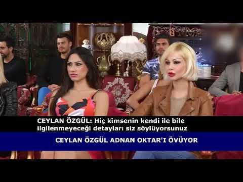 Ceylan Özgül Adnan Oktar'ı Övüyor