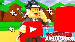 New Roblox Game Youtuber Simulator