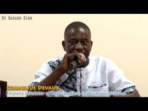 Sierra Leone Ministry of information press briefing May 2016
