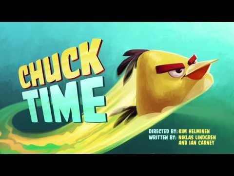 Злые птички Angry Birds Toons 1 сезон 1 серия Время Чака все серии подряд