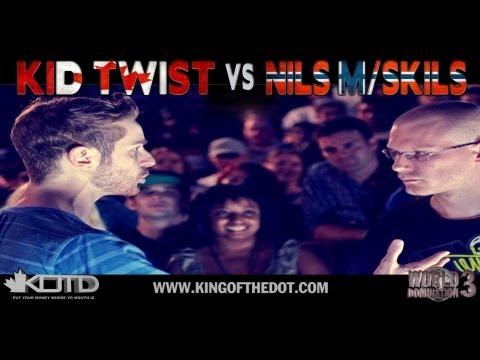 KOTD - Rap Battle - Kid Twist vs Nils M/Skils   #WD3