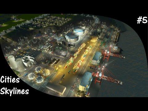 Cities Skylines S2E05 Giant Harbor