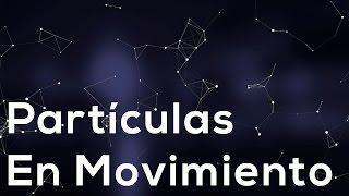 Como hacer efecto partículas en movimiento con Javascript