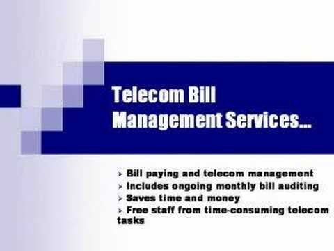 Telecom Auditing and Bill Management Services