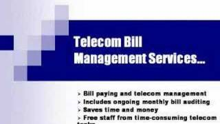 Telecom Auditing and Bill Management Services(http://www.telconassociates.com For 32 years, TelCon Associates, Inc. has been helping companies reduce and manage telecom spending through proprietary ..., 2006-03-01T18:47:32.000Z)