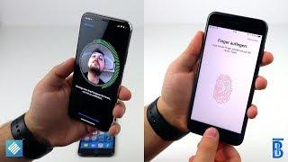 iPhone X FaceID vs. TouchID: Was ist besser? - touchbenny