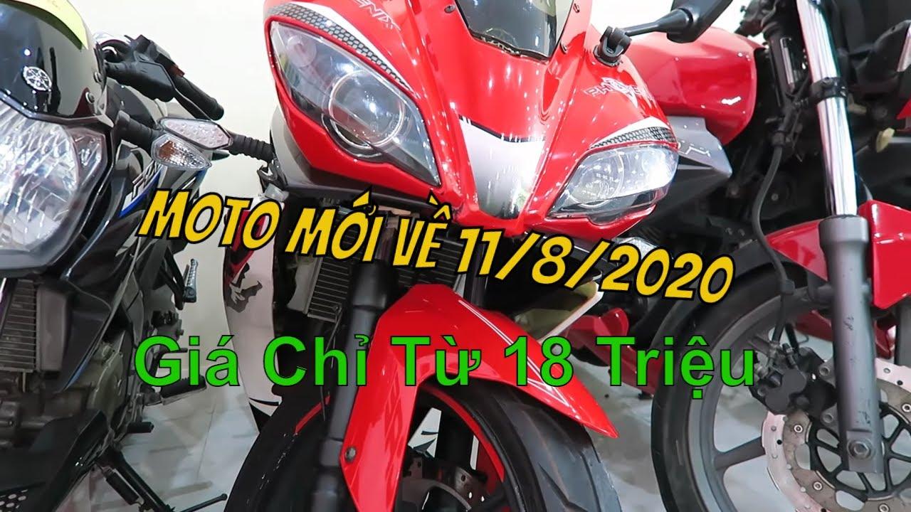 Báo Giá Hết Lô Moto Giá Rẻ Mới Về Từ 125cc Đến 300cc 11/8/2020 | Thắng Biker