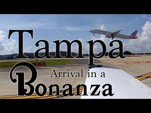 Tampa Arrival in a Bonanza
