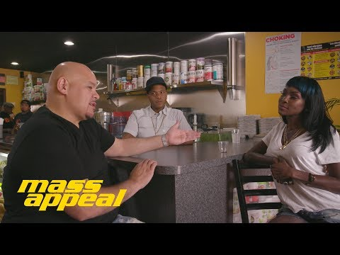 JUICE APPEAL: Fat Joe stops by Juices for Life with Adjua Styles and Styles P. | Mass Appeal