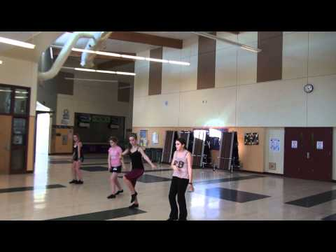 Eagle Point Middle School Dance Team 3-7-12 Small group1