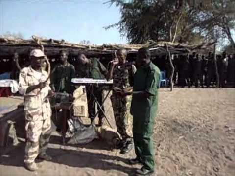 SRF SPLM N Nuba Mountains Graduation of SPLA first division in Jao