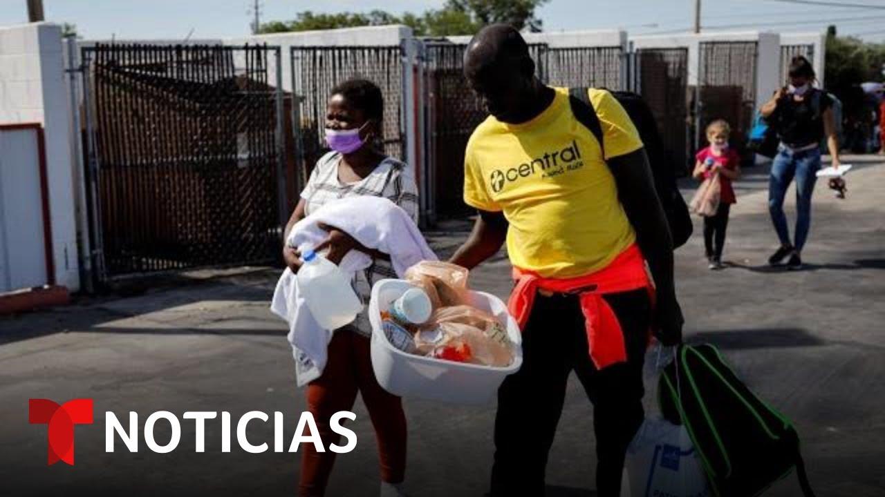 Este será el destino de los haitianos liberados en EE.UU.