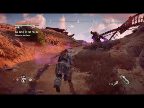 HORIZON ZERO DAWN ANICENT VESSEL DIMMED BONES WITH MAP AND GUIDE LOCATION