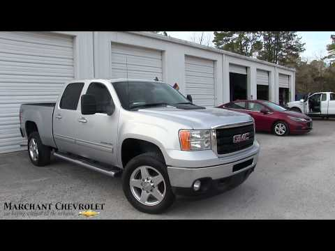 Here's a 2011 GMC Sierra 2500HD SLT - For Sale REVIEW & Condition Report at Marchant Chevy