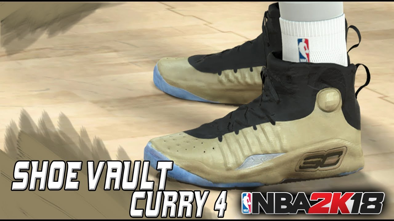 bacd056971bb Shoe Vault  More Curry 4 color ways Released - NBA 2K17 PC - YouTube