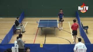 學界D1乒乓A Grade男子決賽 喇沙書院vs拔萃男書院(