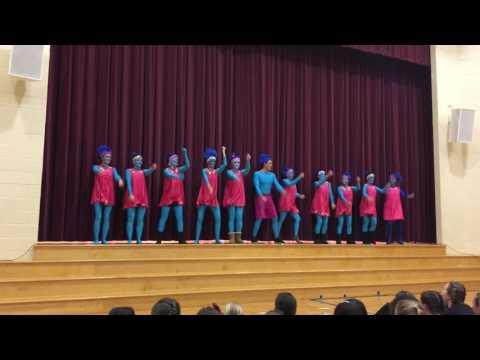 Pocopson Elementary School Troll Themed  Faculty Talent Show 2017