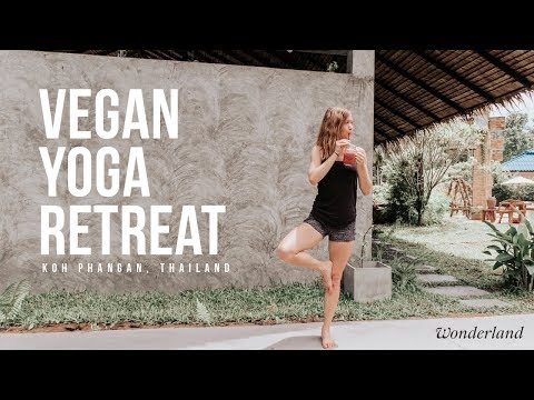 Vegan Yoga Retreat in Koh Phangan, Thailand | WONDERLAND HEALING CENTER 🌿