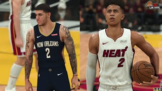 My First Double Double vs. Lonzo Ball & Zion! NBA 2K21 My Career EP 18