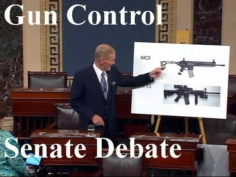 Gun Control. Senate Debate. (6-20-16). Live stream. Senate rejects series of gun measures