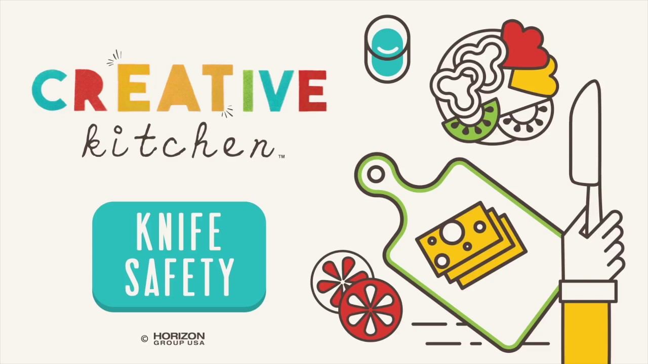 Creative kitchen knife safety tips for kids