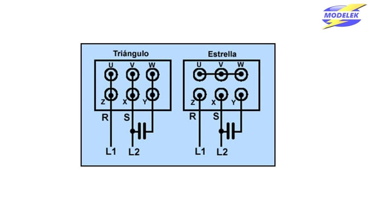 Cálculo Condensador Motor Trifásico Youtube