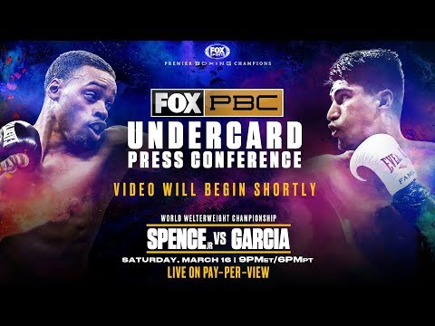 Watch Live: PBC on FOX PPV Undercard Press Conference