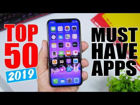 Top 50 MUST HAVE iPhone Apps - 2019 - YouTube