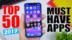 Top 50 MUST HAVE iPhone Apps - 2019