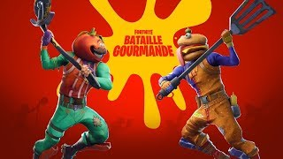 LA BATAILLE BURGER VS PIZZA A COMMENCÉ...🍔🍕 | MAJ FORTNITE