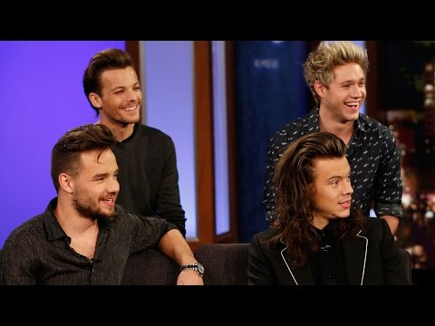 One Direction Get PRANKED On Kimmel - Talk Meeting Fans In The Bathroom & Thanksgiving Plans