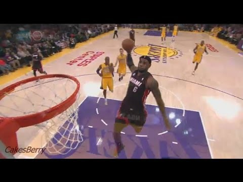 c95ae36194d1 LeBron James Top 10 Dunks 2012 2013 HD Part 1 - YouTube