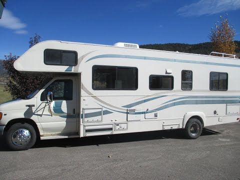 1999 Ford F-450 Tioga 292 motorhome camper RV by Fleetwood for sale Vail Valley Colorado