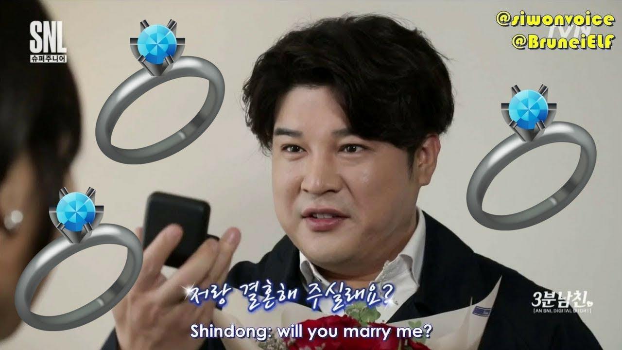 [ENGSUB] 171111 tvN SNL Korea 3-minute boyfriend Shindong (Super Junior)