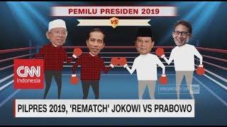 Pilpres 2019, 'Rematch' Jokowi Vs Prabowo