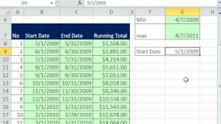 Excel Magic Trick 568: SUMIFS function Monthly Running Total from Transaction Data