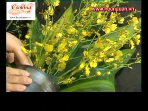 Hướng dẫn cắm hoa dáng thấp trang trí bàn tiệc